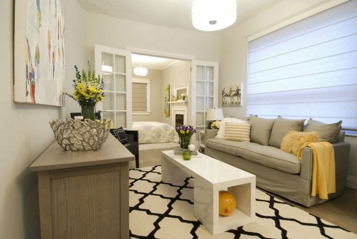 Contemporary living room, Income Property