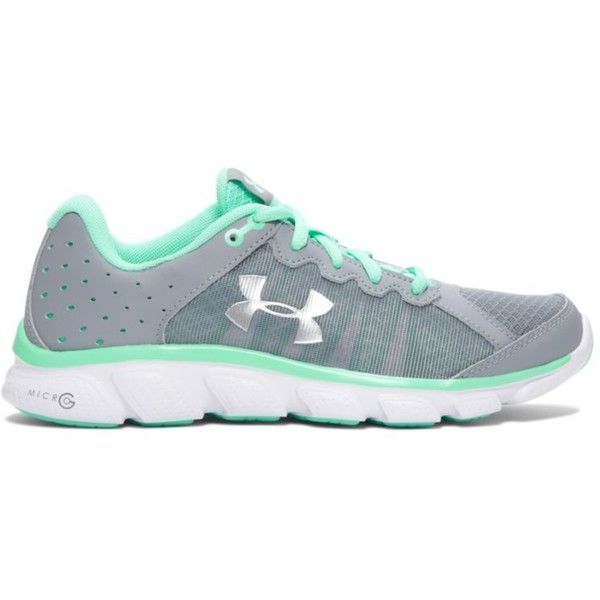 Under Armour Women's UA Micro G Assert 6 Running Shoes ($70) ❤ liked on Polyvore featuring shoes, athletic shoes, steel, under armour, under armour footwear, cushioned shoes, running shoes and traction shoes