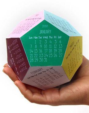 Calendario Rainbow.Free Printable Calendar Template 3d 2018 Calendar