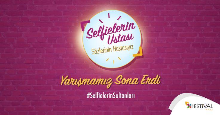 #SelfielerinSultanları yarışmamız sona ermiştir, katılan tüm takipçilerimize teşekkür ederiz. Sonuçlar için sayfamızı takipte kalın.