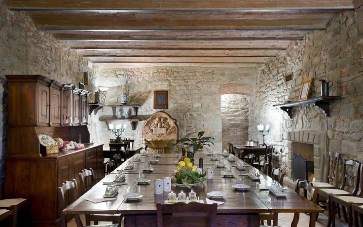 Villa Campestri ~ resort dining