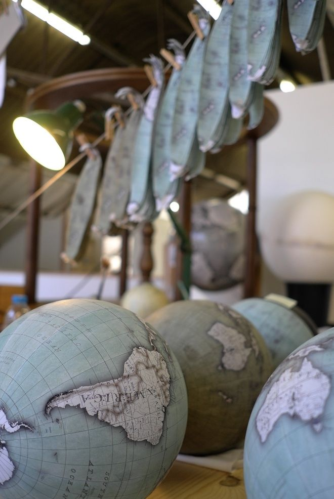 Meet the Craftsman Who Makes the World's Coolest Globes   Wired Design   Wired.com