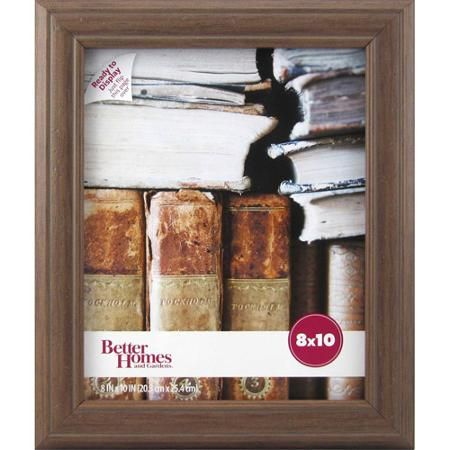 better homes and gardens marco 8x10 frame walnut