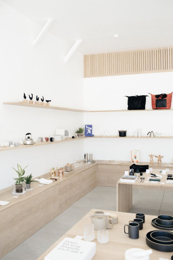 Formerly Yes is a minimalist retail space located in Los Angeles, California, designed by Brad & Jenna Holdgrafer, who also own the company.