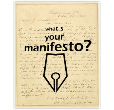 What s your Manifesto? What do you stand for?/ Bigger than life by beyondartdesign