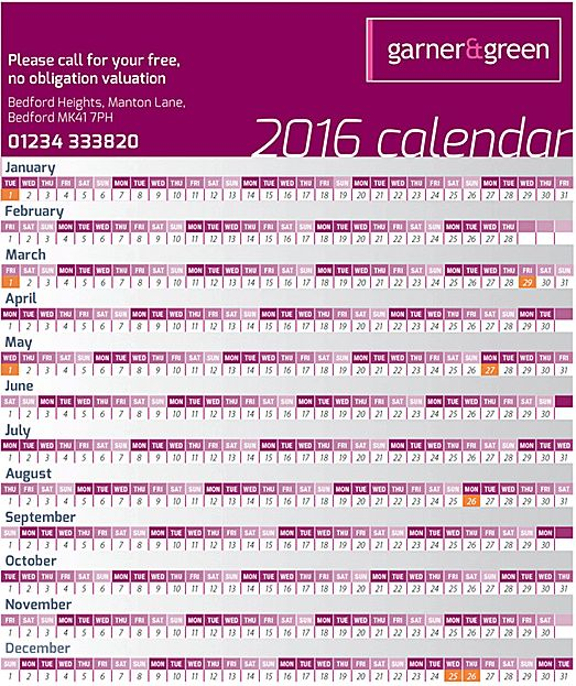 24 Best Estate Agent Leaflet Ideas Capture Clients With A Calendar