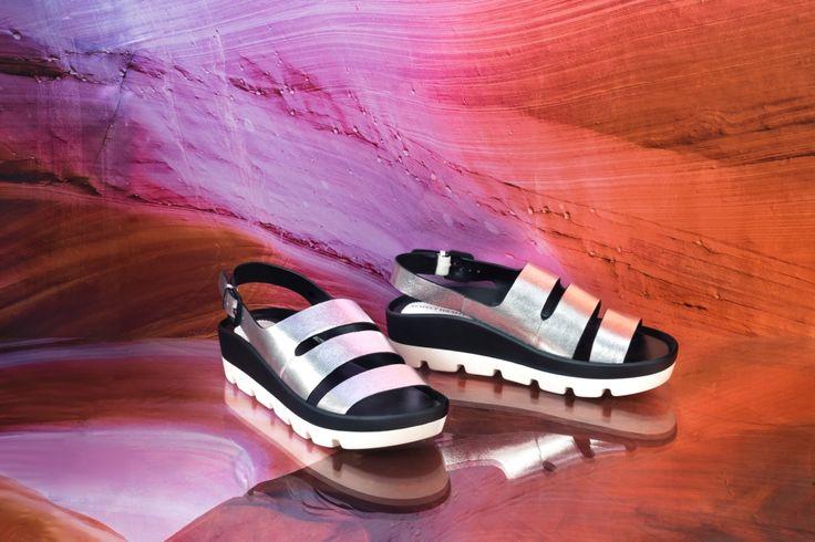 Эта модель в цвете серебристый металлик не останется незамеченной!✨ Удобные сандалии идеальны для пеших прогулок🌴 ☀🌴 Арт: IK56-093210/8 #respectshoes #iloverespect #shoes #ss17 #shopping #обувьреспект #шоппинг #мода #весна #веснавrespectshoes