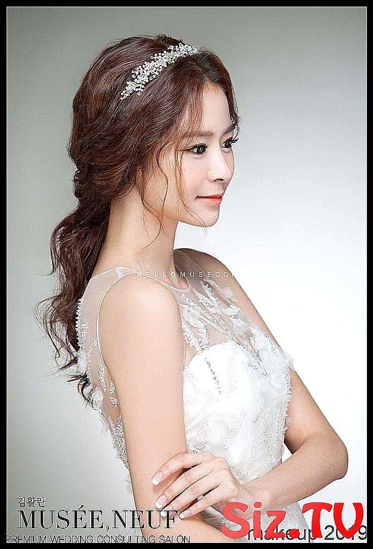 Korean Bridal Hairstyle Korean Wedding Hairstyle W #Bridal #classpintag #explore
