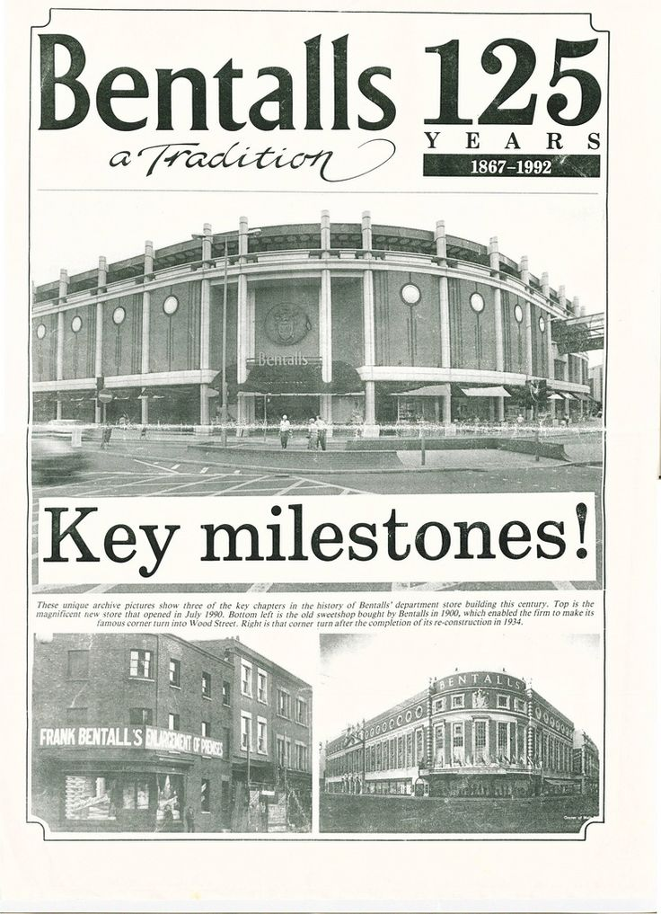 bentalls kingston department store - Google Search