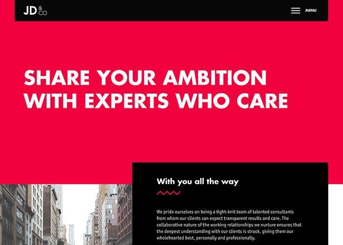 JD&Co.   CSS Website