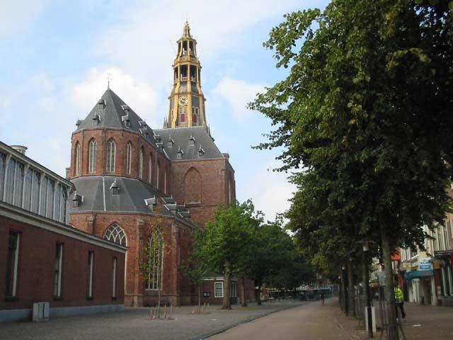 Historische kerken in Groningen, hervormde kerk der Aa-kerk