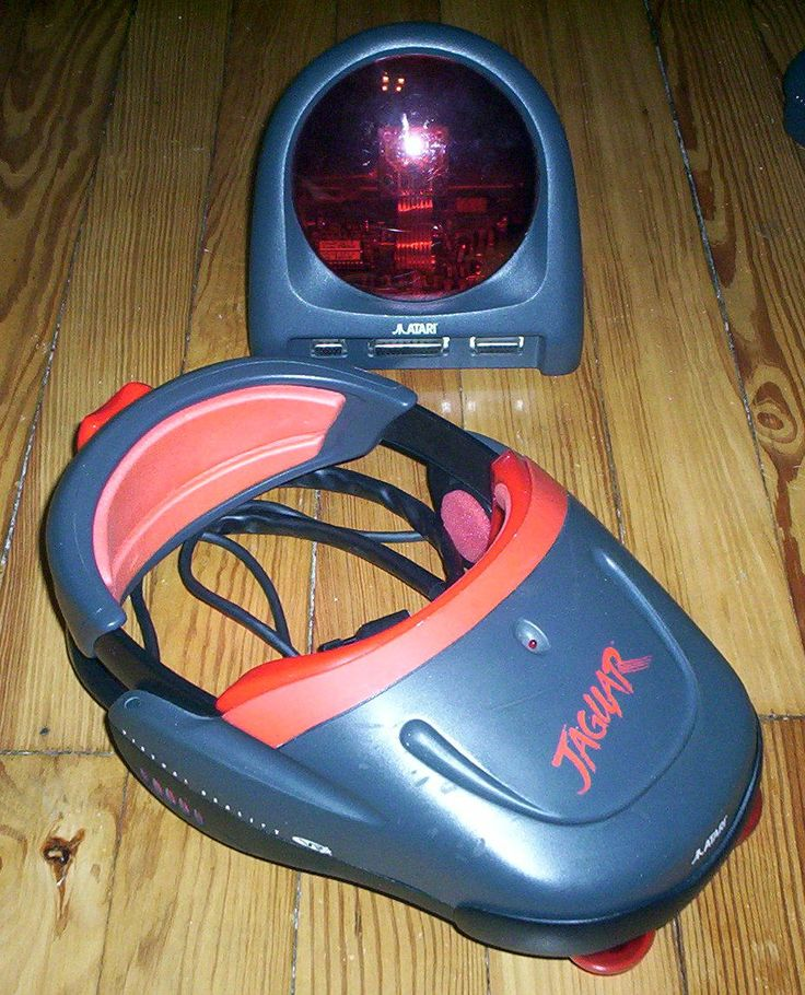Atari Jaguar VR prototype designed by Virtuality