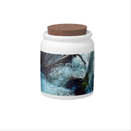 Wild Forest River Candy Dishes - photography picture cyo special diy