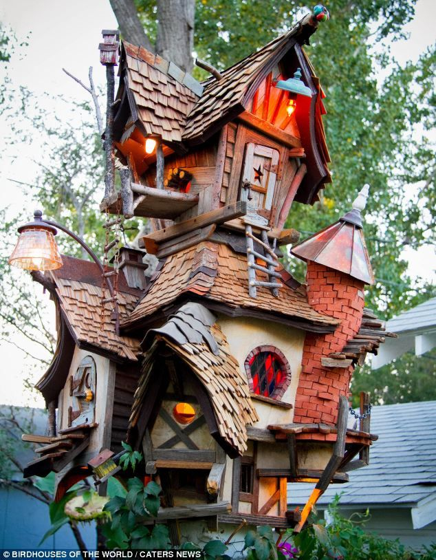 Across the world some people have spent a fortune on these extraordinary homes for birds. ...