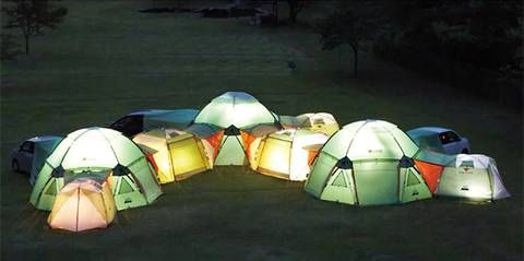 The #occupy People Could Use A Few of These: The Decagon Tent : TreeHugger