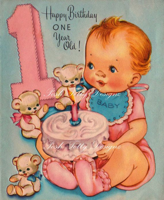 Birthday Sayings For A One Year Old Happy birthday year old girl – One Year Old Birthday Card Sayings
