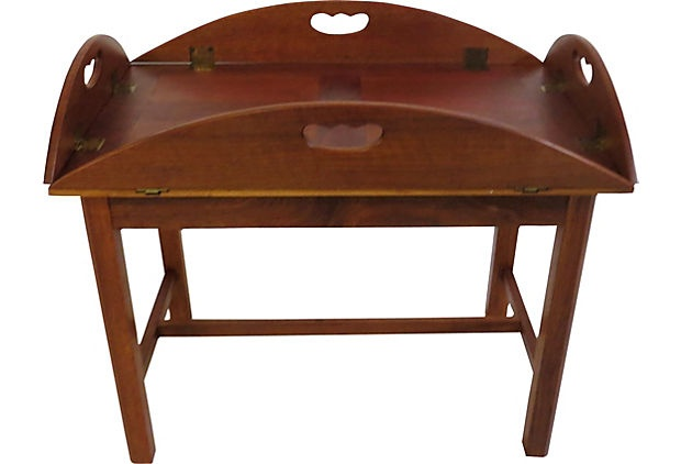 English butler 39 s coffee table antique vintage furniture pinterest Butler coffee tables