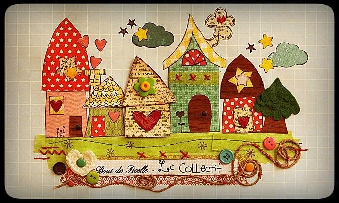 Homes sweet homesSweets Home, De Ficelle, Le Collectif, Job Join, Crafty Things, Cards Inspiration, Bout De, Sweet Home, Crafts