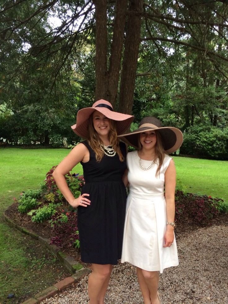 Carolina Cup themed Bridesmaids' Luncheon - Oysters & Pearls