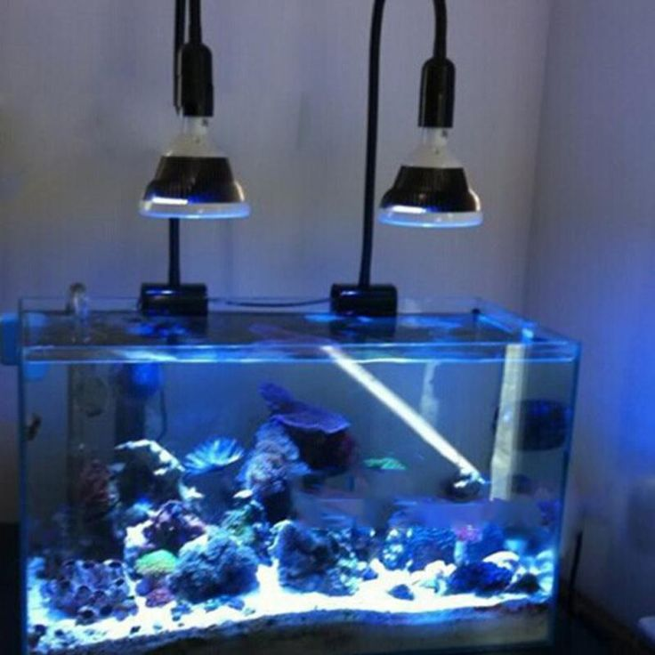 Beautiful Aquarium Lamp 36 W Coral Reef Plant Grow Light Fish Tank LED 12 Beads Multicolor