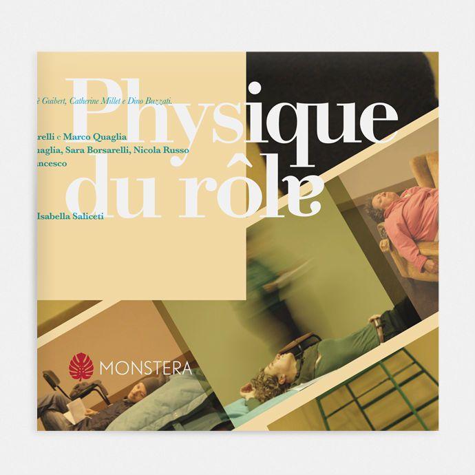Physique du rôle progetto grafico Liligutt studio