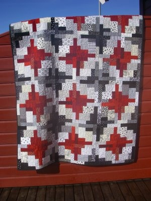 Black and White quilt challenge