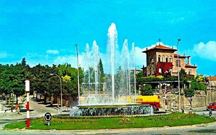 La Plaza de España. Foto de Vigo, ciudad olívica. Fotos antiguas.