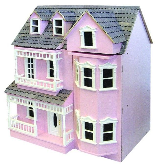 DH024PP - Dolls House Kit- Exmouth Painted Pink