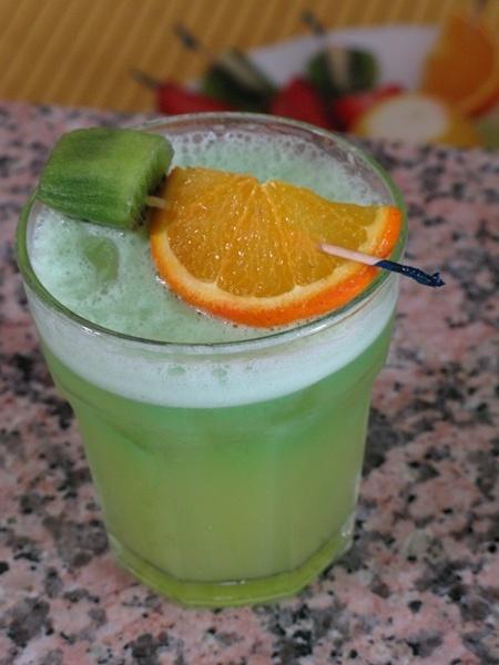 Drink alla mela verde