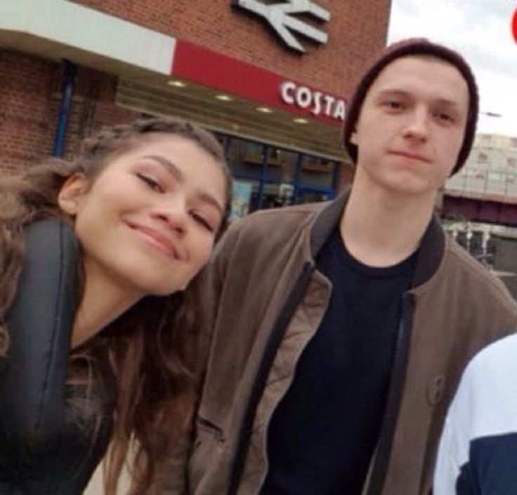 Zendaya and Tom Holland in Kingston - February 18, 2018
