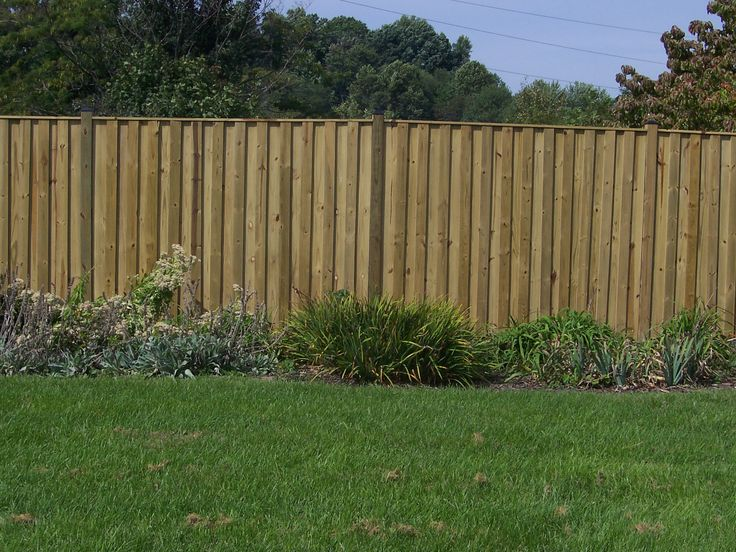 1000 Ideas About Wood Privacy Fence On Pinterest