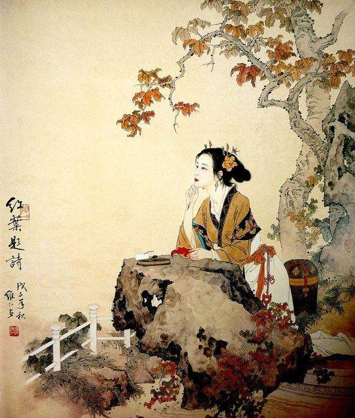 Китайская живопись - открываем новые грани творчества. Обсуждение на LiveInternet - Российский Сервис Онлайн-Дневников