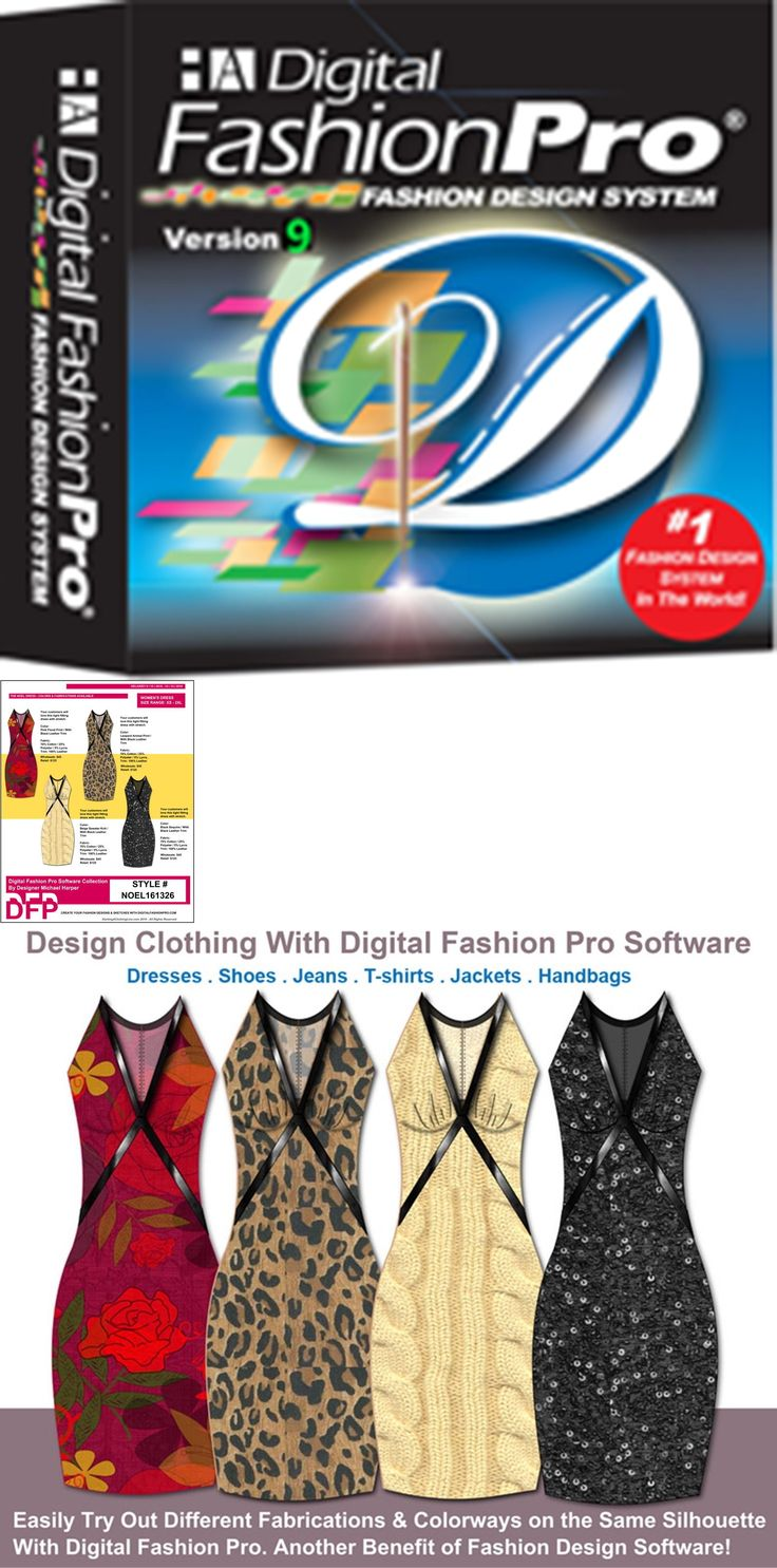 Free poster design software for windows 7 - Sewing Patterns 28174 Digital Fashion Pro Fashion Design Software Buy It Now