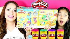 Tuesday Play Doh Sundae Station & Pizza Party  B2cutecupcakes - YouTube