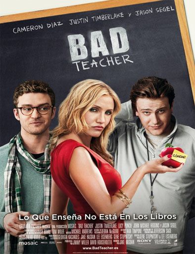 Poster de Bad Teacher