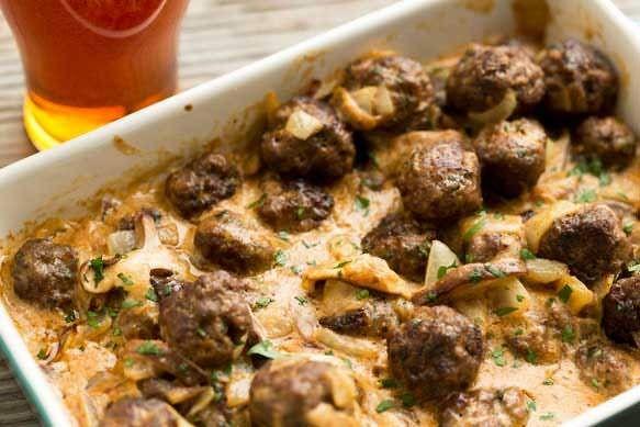 Octoberfest Meatballs