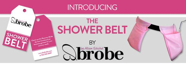 Designed for women to wear in the shower to hold the post-op fluid drains that come with having a mastectomy, reconstruction surgery, breast augmentation or reduction.