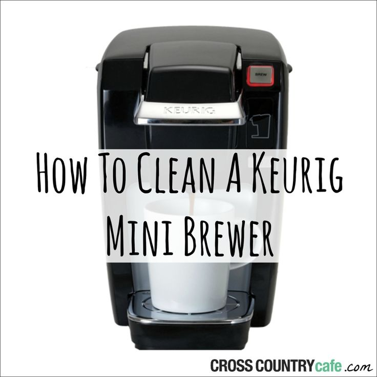 learn how to clean and descale a keurig mini k10 or k31 coffee brewer using our