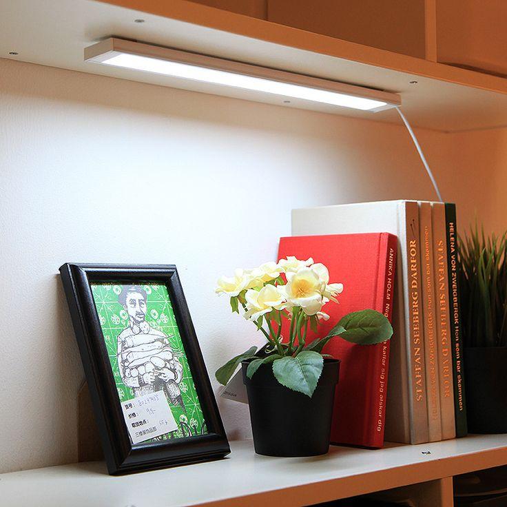 Spectacular New LED Night Light Bedroom Kitchen Cabinet Wardrobe Dormitory Bar Lamp Home Decor White DC V