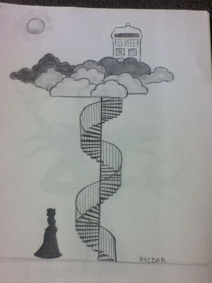 Doctor who drawing idea