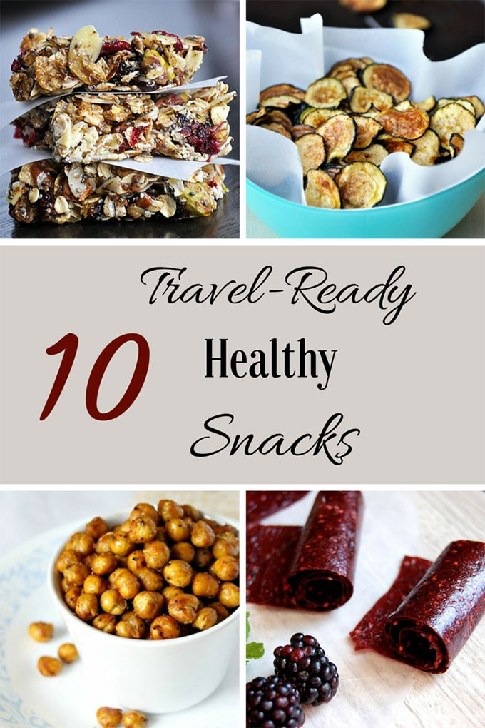 10 Travel Ready Healthy Snacks That Don't Suck | No Gojis, No Glory