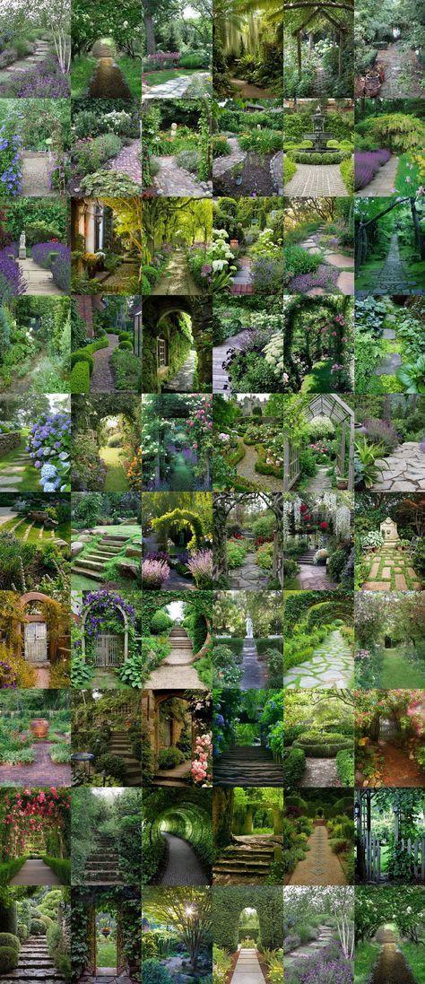 61 Magical-Secret #Garden Paths