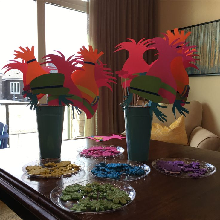 13 best trolls party images on pinterest troll party for Michaels crafts birthday parties