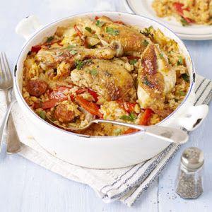 Chicken & Chorizo Rice Pot Recipe | Yummly