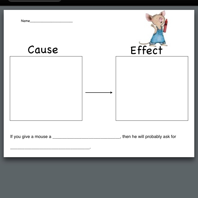 If you give a mouse a cookie worksheets if you give a mouse a cookie - Wit ceruse effect ...
