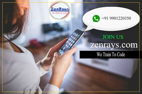 WhatsApp Us !!!  Software Training in Bangalore. Classroom sessions. Online sessions.  Visit: zenrays.com
