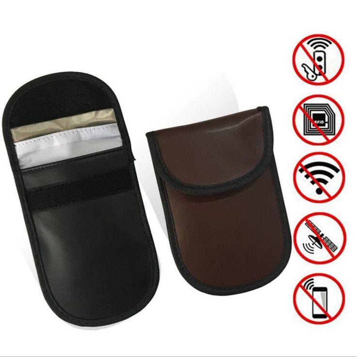 Cell phone blocker pouch   Portable 4G lte 3G + GPS + Wifi Signal Blocker Jammer - GSM/CDMA/3G Jammer