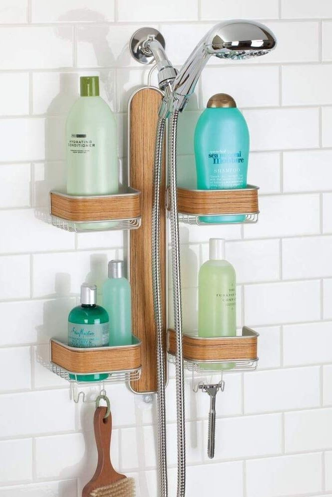 99 Organizing Products So Useful You Ll Wonder Where They Ve Been All Your Life Shower Caddy Hanging Shower Caddy Shower Caddy Storage