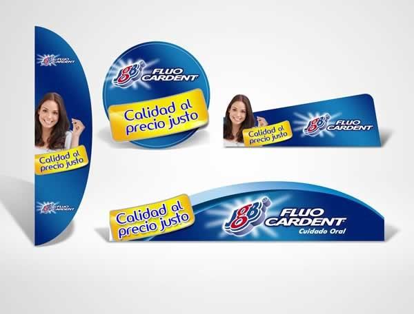 Cliente: JGB Producto: Fluocardent Referencia: Calidad al Precio Justo Aplicación: Material de Merchandising y Visibility Fecha: 2012
