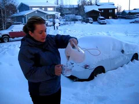 Who wants to try this experiment this winter? Evaporating Water in -30C in Yellowknife, Northwest Territories